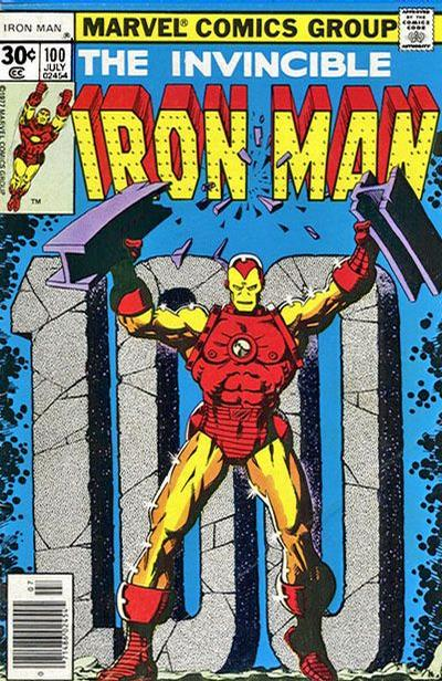Cover for Iron Man (Marvel, 1968 series) #100