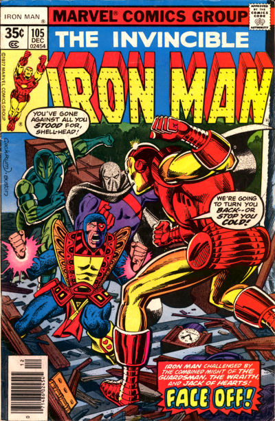 Cover for Iron Man (Marvel, 1968 series) #105 [Regular Edition]