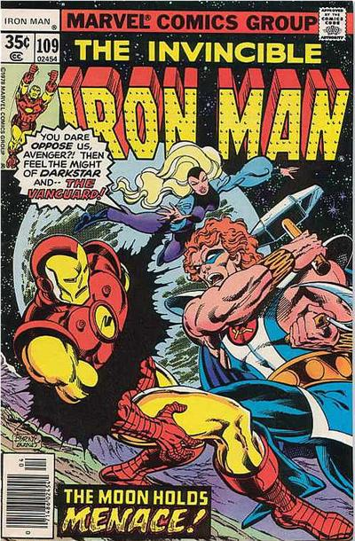 Cover for Iron Man (Marvel, 1968 series) #109 [Regular Edition]