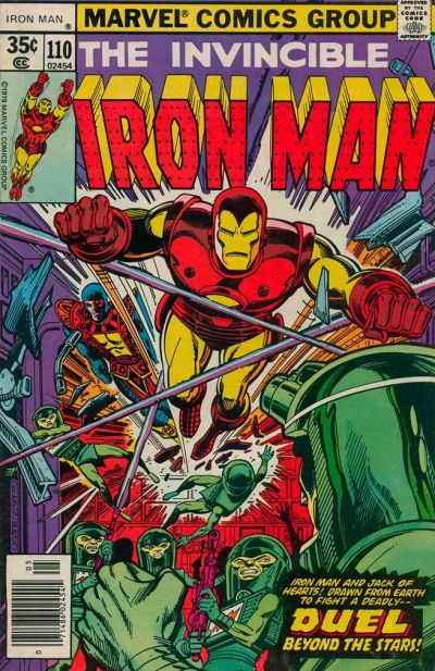 Cover for Iron Man (Marvel, 1968 series) #110