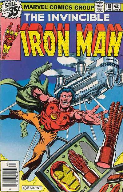 Cover for Iron Man (Marvel, 1968 series) #118