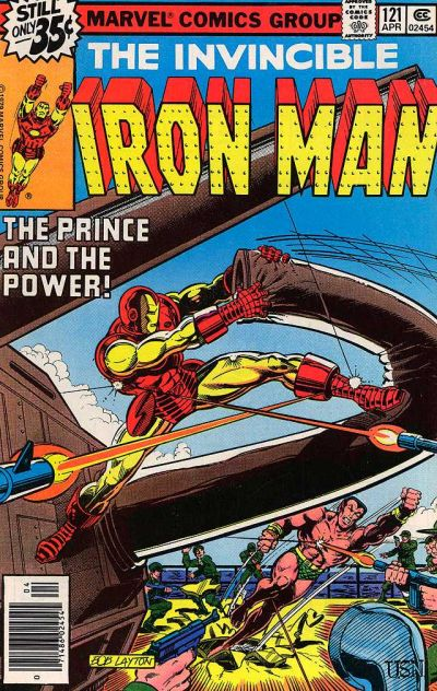 Cover for Iron Man (Marvel, 1968 series) #121