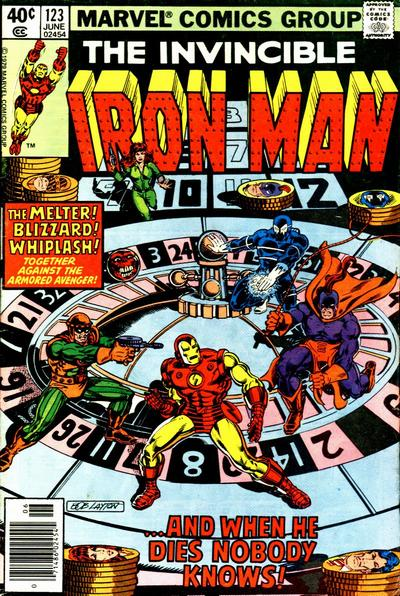 Cover for Iron Man (Marvel, 1968 series) #123