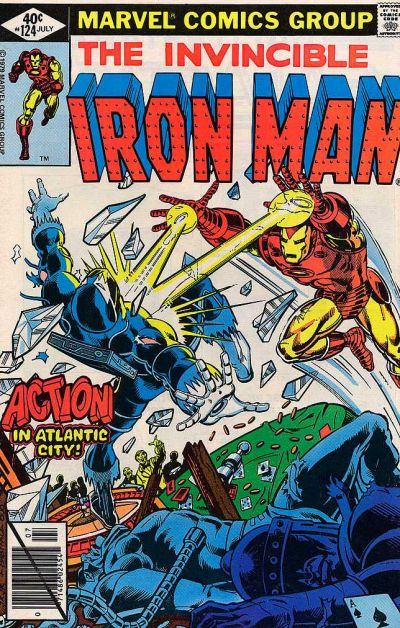 Cover for Iron Man (1968 series) #124