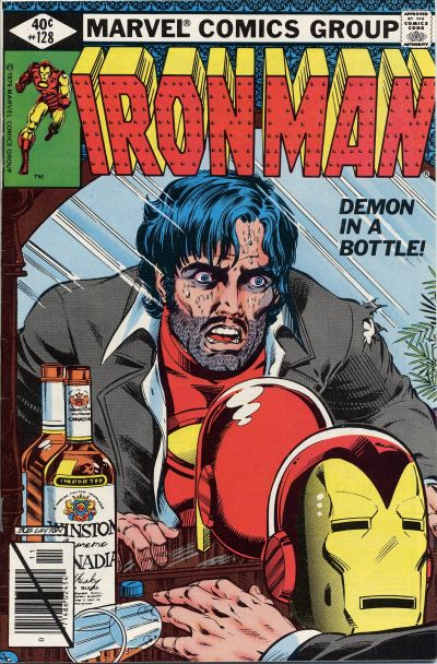 Cover for Iron Man (Marvel, 1968 series) #128