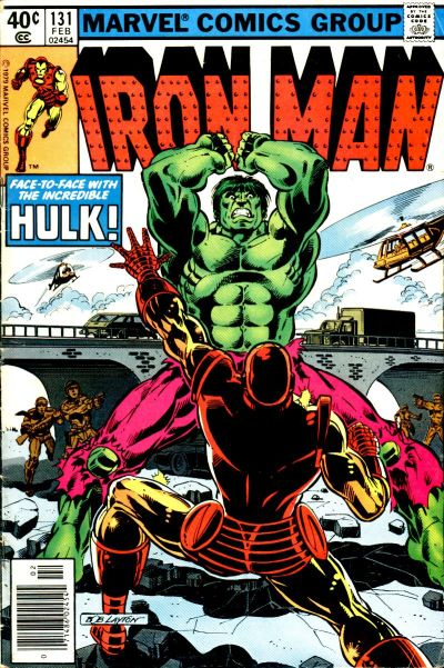 Cover for Iron Man (Marvel, 1968 series) #131