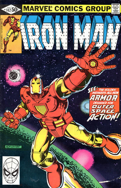 Cover for Iron Man (Marvel, 1968 series) #142