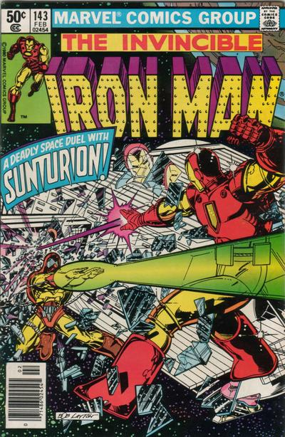 Cover for Iron Man (Marvel, 1968 series) #143