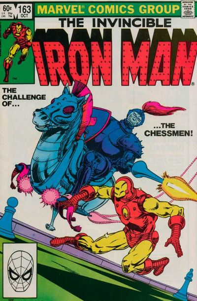 Cover for Iron Man (1968 series) #163 [Direct Edition]