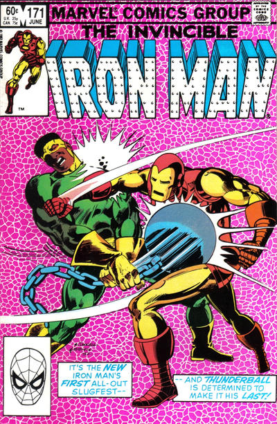 Cover for Iron Man (1968 series) #171 [Direct]