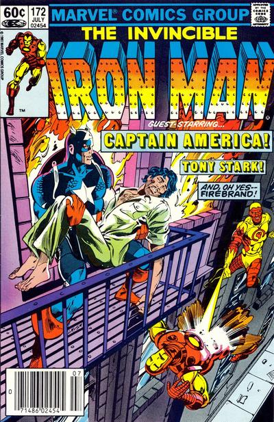 Cover for Iron Man (Marvel, 1968 series) #172 [Direct]