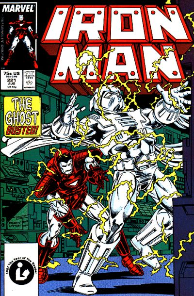 Cover for Iron Man (1968 series) #221 [Newsstand Edition]