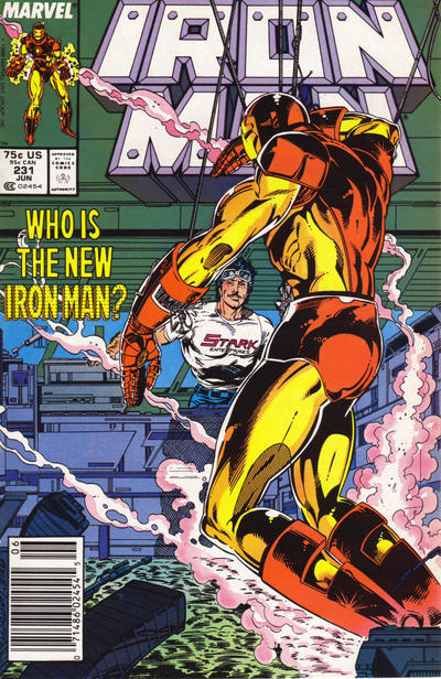 Cover for Iron Man (Marvel, 1968 series) #231 [Direct]