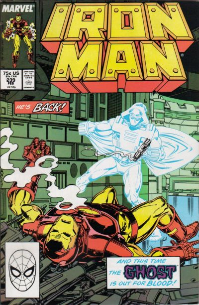 Cover for Iron Man (1968 series) #239 [Direct]