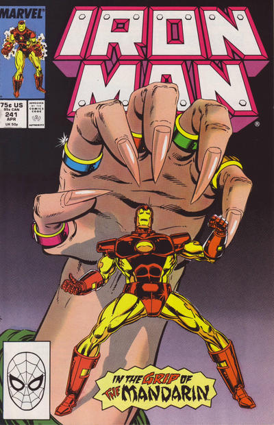 Cover for Iron Man (Marvel, 1968 series) #241 [Direct]