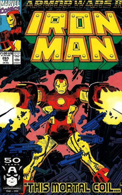 Cover for Iron Man (Marvel, 1968 series) #265