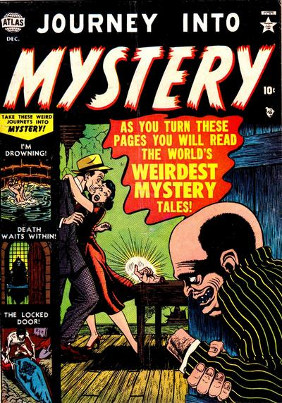 Cover for Journey into Mystery (Marvel, 1952 series) #4