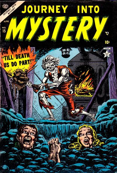 Cover for Journey into Mystery (Marvel, 1952 series) #15