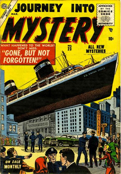 Cover for Journey Into Mystery (1952 series) #23