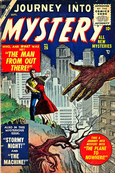 Cover for Journey into Mystery (Marvel, 1952 series) #26