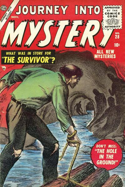 Cover for Journey into Mystery (Marvel, 1952 series) #28