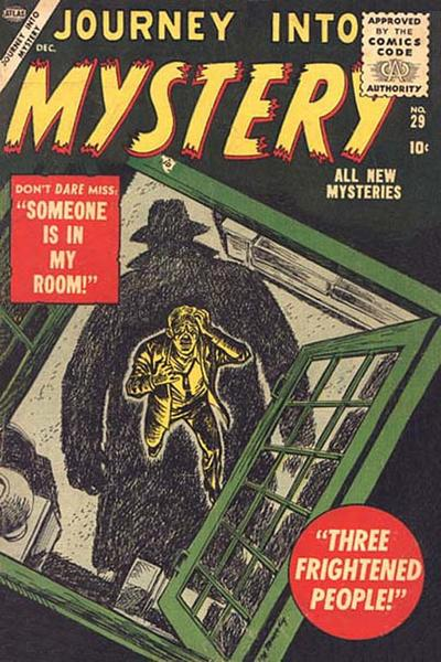 Cover for Journey Into Mystery (1952 series) #29