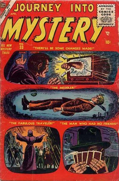 Cover for Journey into Mystery (Marvel, 1952 series) #33