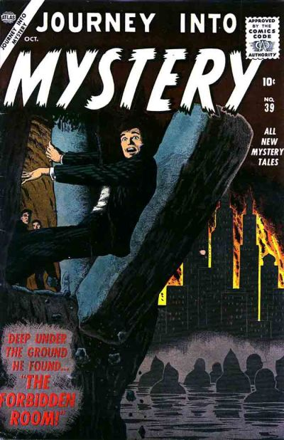 Cover for Journey Into Mystery (1952 series) #39