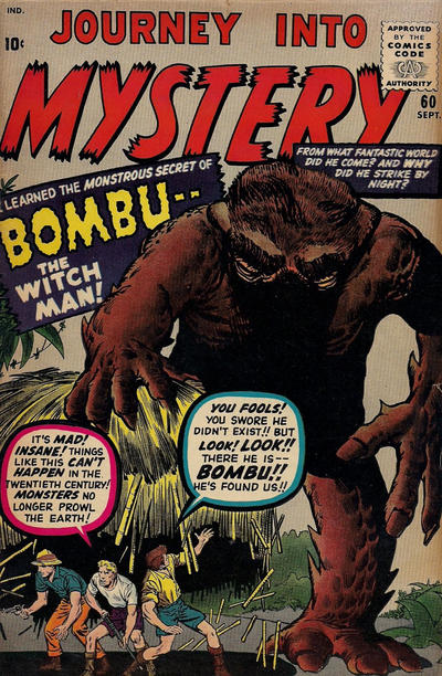 Cover for Journey into Mystery (Marvel, 1952 series) #60