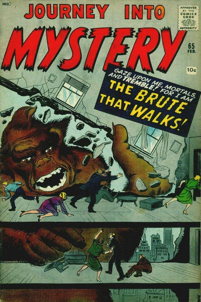 Cover for Journey into Mystery (Marvel, 1952 series) #65