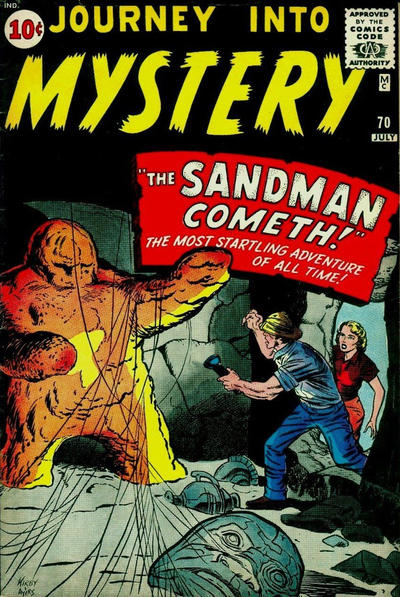 Cover for Journey into Mystery (Marvel, 1952 series) #70
