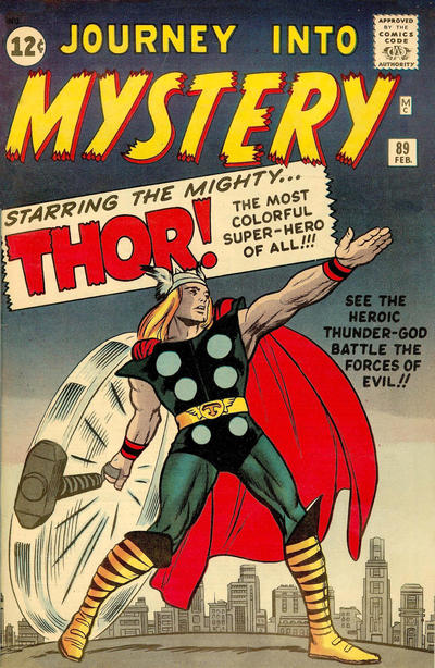 Cover for Journey into Mystery (Marvel, 1952 series) #89