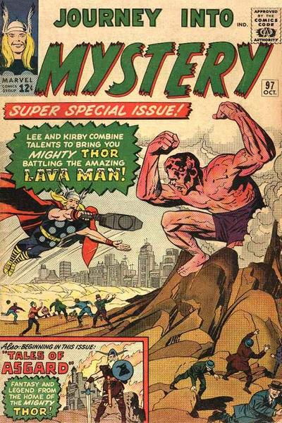 Cover for Journey Into Mystery (1952 series) #97