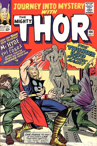 Cover for Journey into Mystery (Marvel, 1952 series) #106