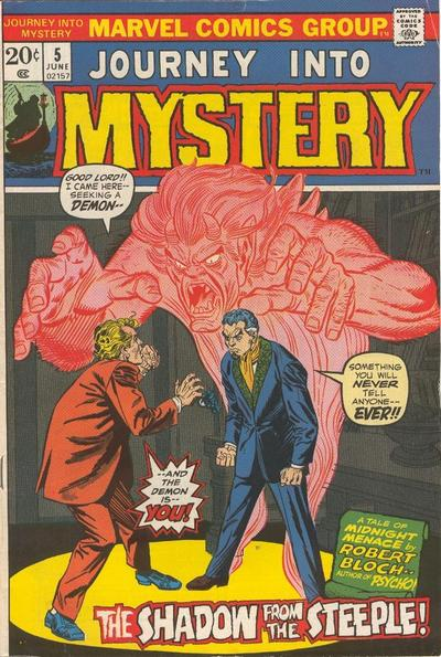 Cover for Journey into Mystery (Marvel, 1972 series) #5