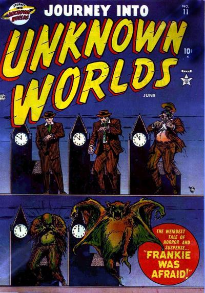 Cover for Journey Into Unknown Worlds (1951 series) #11