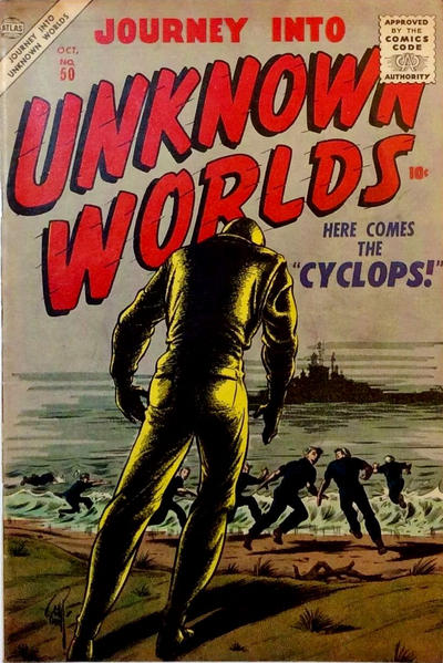 Cover for Journey Into Unknown Worlds (Marvel, 1951 series) #50