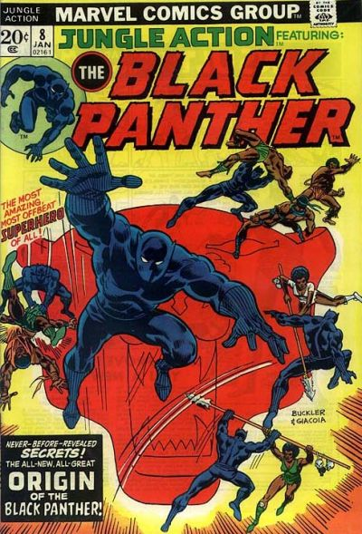 Cover for Jungle Action (Marvel, 1972 series) #8