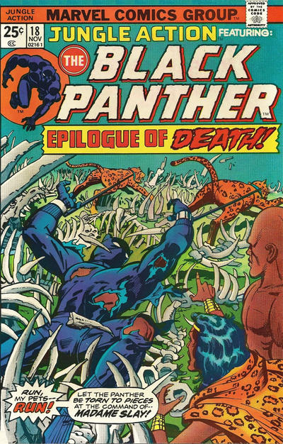 Cover for Jungle Action (Marvel, 1972 series) #18 [Regular Edition]