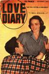 Cover for Love Diary (Orbit-Wanted, 1949 series) #3