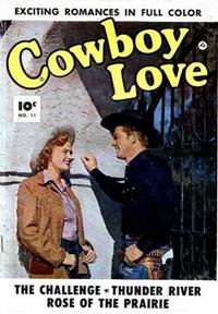 Cover Thumbnail for Cowboy Love (Fawcett, 1949 series) #11