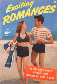 Cover Thumbnail for Exciting Romances (Fawcett, 1949 series) #9
