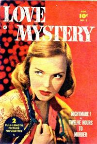Cover for Love Mystery (1950 series) #2