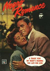 Cover Thumbnail for Negro Romance (Fawcett, 1950 series) #1