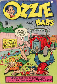 Cover Thumbnail for Ozzie and Babs (Fawcett, 1947 series) #13