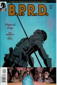 Cover Thumbnail for B.P.R.D., Plague of Frogs (Dark Horse, 2004 series) #5