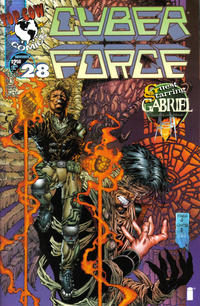 Cover Thumbnail for Cyberforce (Image, 1993 series) #28