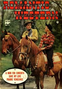 Cover Thumbnail for Romantic Western (Fawcett, 1949 series) #2
