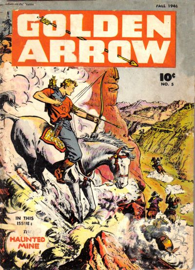 Cover for Golden Arrow (Fawcett, 1942 series) #5