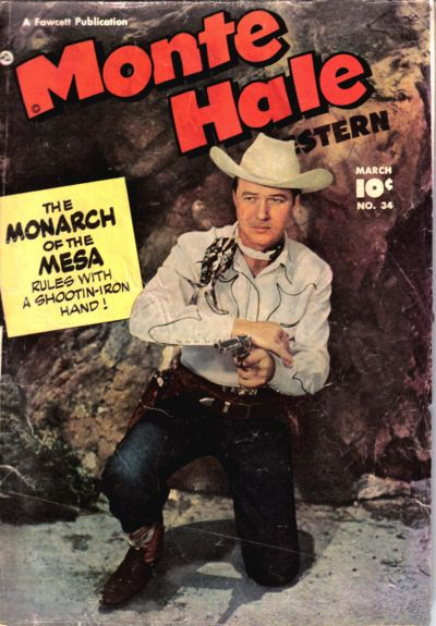 Cover for Monte Hale Western (Fawcett, 1948 series) #34